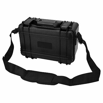 Waterproof Protective Equipment Hard Carry Case Plastic Box With Foam & Strap