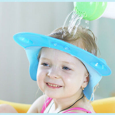 Germany Advance Design silicone adjustable Baby Shampoo Cap Baby shower cap