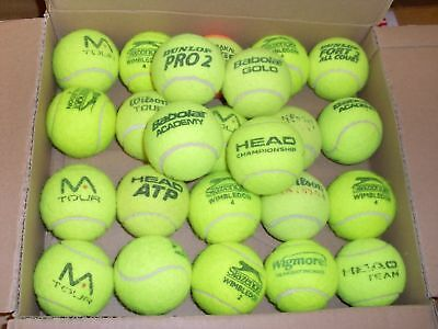 Used Tennis Balls (X30)  Ideal For Dog Walkers All Top Brands