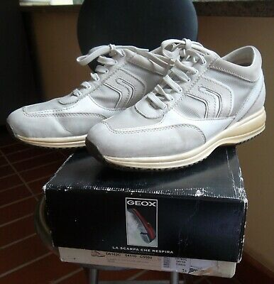 SCARPE SNEAKERS DONNA Geox Estate D642Sc 0Ly22 Cb55A Airell