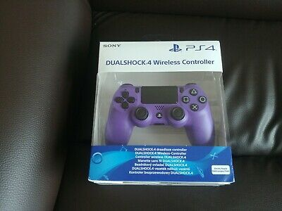COLLECTION ONLY PS4 Sony Electric Purple Dualshock Controller Brand New Sealed