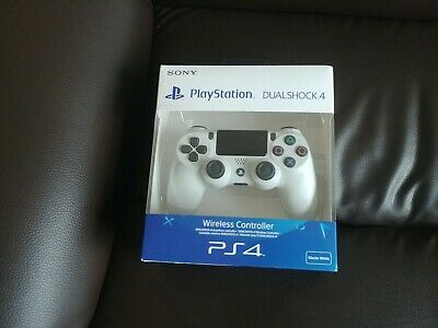 COLLECTION ONLY PS4 Sony Official White Dualshock Controller Brand New Sealed