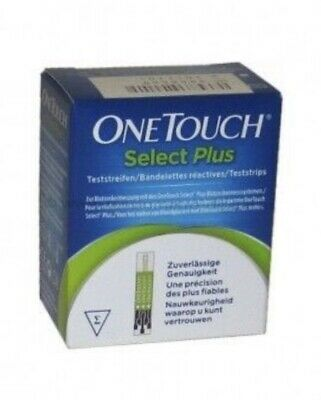Tiras reactivas One Touch Select plus 100 Uds.