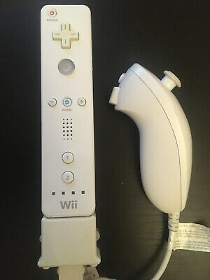 Official Nintendo Wii Remote Controller wii motion plus and nunchuck
