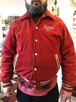 Eddie Ed Edward 1994 94 Jacket Quilted American Football Lansdowne Viking's