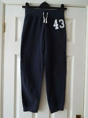 Girl's No. 43 Jogging Bottoms in Blue from NEXT Age 11 Years Very Good Condition