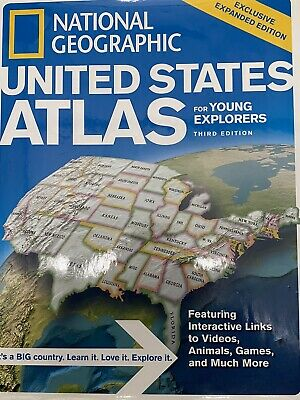 National Geographic United States Atlas For Young Explorers Third Edition