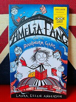 World Book Day 2020: Amelia Fang & the Bookworm Gang by Laura Ellen Anderson NEW