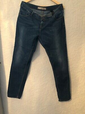 Next Ladies Jeans Relaxed Skinny 16 Long