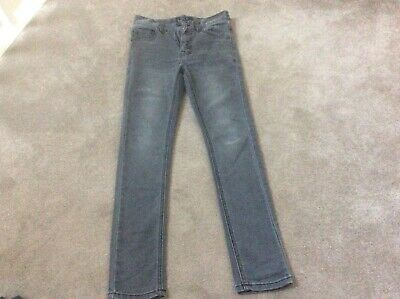 Boys Next Skinny Grey Jeans 9 Yrs
