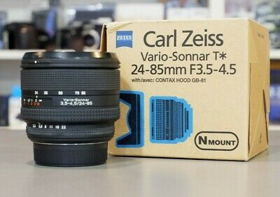 Carl Zeiss Vario Sonnar T* 24-85mm F3.5/4.5 - Has occasional focus issue