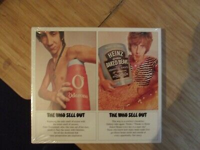"THE WHO ""SELL OUT"" 2 CD DELUXE EDITION sealed,as shown in pictures.see below."