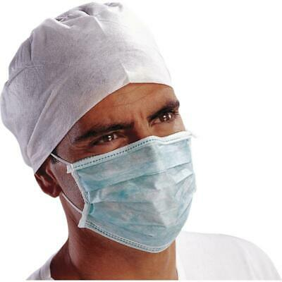 Disposable Medical face Mask 3ply Loop Surgical Virus 500 pcs 10 box