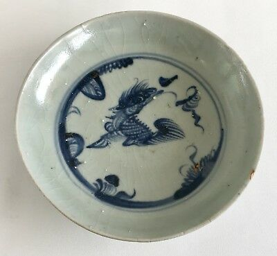 Chinese Ming Dynasty Zhengde Period 15th Century Qilin Dish