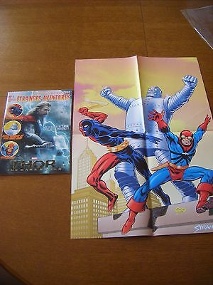 Organic Comix/  Etranges Aventures 1 Thor + Hs 1 Special Poster