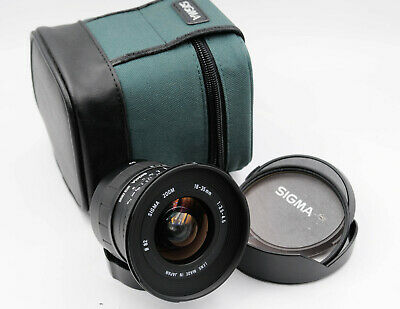 Sigma Zoom Lens 18-35mm 1:3.5-4.5  Aspherical - Canon EF Mount