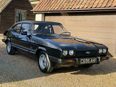 Ford Capri 1985 Convertible, Recently Refurbed, 12 Months Mot, Only 57146 Miles
