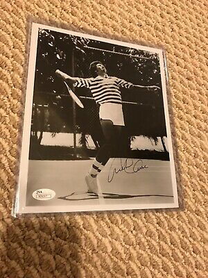 Arthur Ashe Signed 8x10 Photo, JSA With Marching Cert., Very Rare