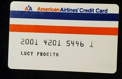 American Airlines credit card♡Free Shipping♡cc956♡