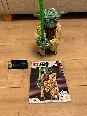 Lego Star Wars Rare 75255 Yoda UCS Rare Complete Box Instructions