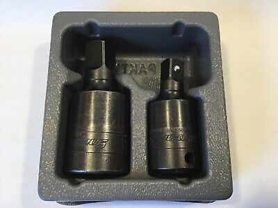 "SNAP-ON 202IP~2 Pc 1/2 & 3/8"" Drive Impact Universal Joint Set W/ Tray~FREE SHIP"