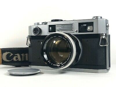 [Exc+5] Canon 7S 35mm Rangefinder Film Camera + Lens 50mm f/1.4 L39 from JAPAN