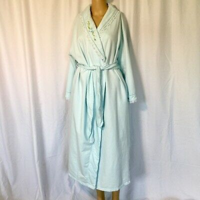 Aria Collection Women's Long Sleeve Wrap Robe Size: L