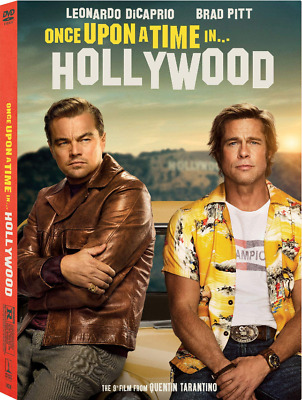 *Brand New Sealed* Once upon a Time in Hollywood (2019/DVD) w/SlipCover