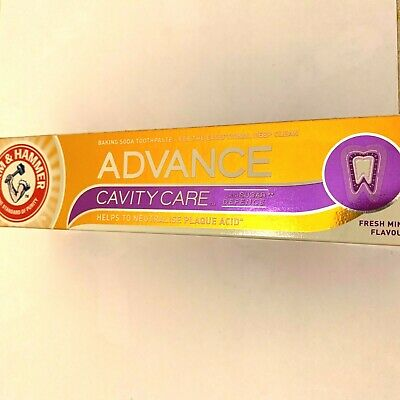 (THREE PACKS) Arm & Hammer Advance Cavity Care Baking Soda Toothpaste 75ml