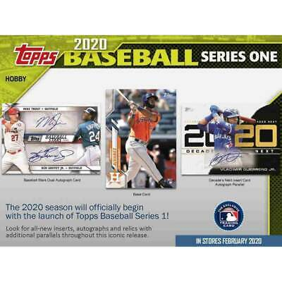 2020 Topps Series 1 Baseball - Hobby Factory Sealed