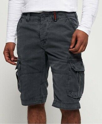 superdry core cargo lite chrome blue