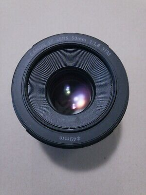 Mint Condition Canon EF 50mm f/1.8 STM Lens