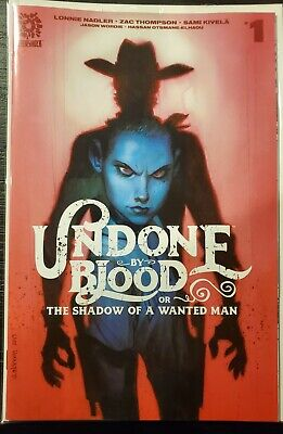 Undone By Blood #1 NM 1:15 Andrew Robinson Incentive Variant Beautiful Copy  Hot