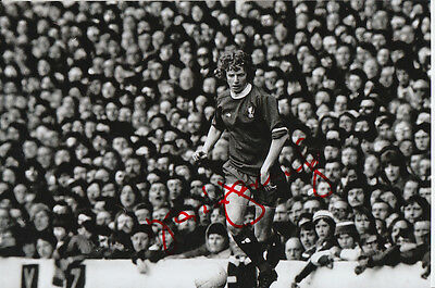 Liverpool Hand Signed David Fairclough 6X4 Photo.