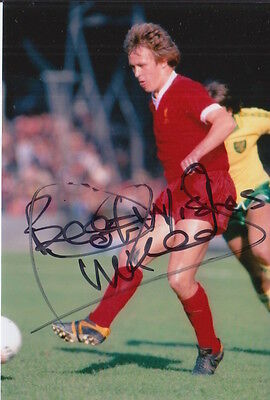 Liverpool Hand Signed Phil Neal 6X4 Photo 2.