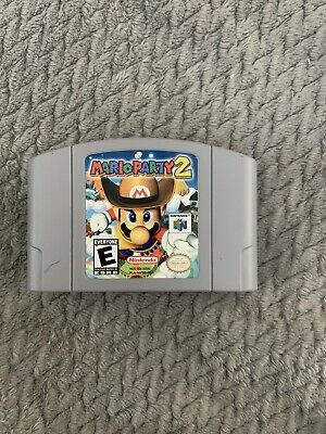 Mario Party 2 (Nintendo 64, 2000) Authentic Cart Only!!!!