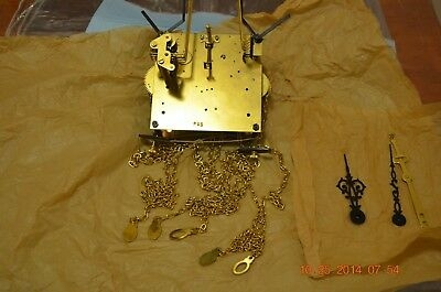 Jauch P 77 Grandfather Clock Chain Movement Nos