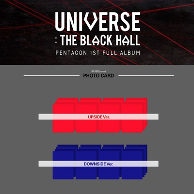 Pentagon - 1St Albumm Universe : The Black Hall Photo Card & Pre-Order Benefit