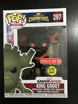 Funko Pop! Games Marvel Contest of Champions King Groot Target Exclusive
