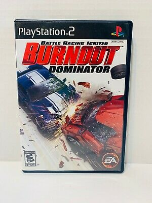 Burnout Dominator ps2 cib (Sony PlayStation 2, 2007) Complete in Box