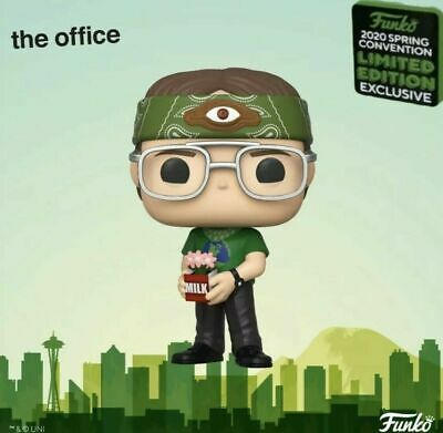 ECCC 2020 Exclusive Funko Pop DWIGHT RECYCLOPS THE OFFICE Official Con Sticker