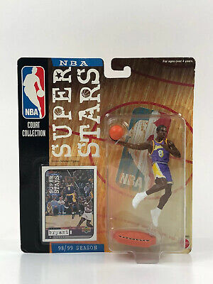Kobe Bryant NBA SUPER STARS 1999 NBA Court Collection Figure 98/99 Lakers Card