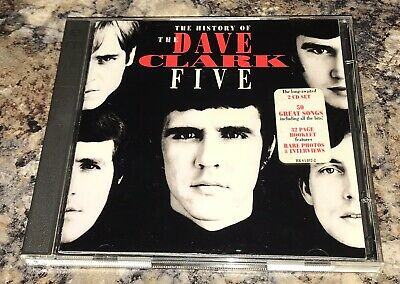 THE DAVE CLARK FIVE History Of (1993 2-CD) GLAD ALL OVER Any Way You Want It