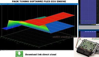 Pack data chiptuning File Winols Swiftec Dpf Egr Vmax Launch Flap Popbang Remap