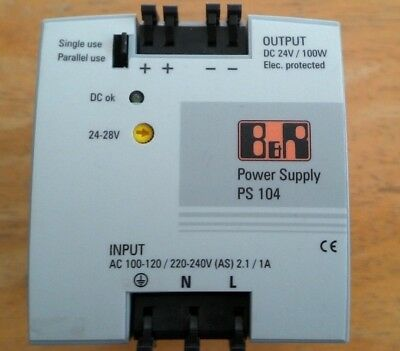B&R Power Supply 0PS104.0