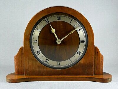 Art Deco Garrard Synchronous Electric Mantle Desk Clock