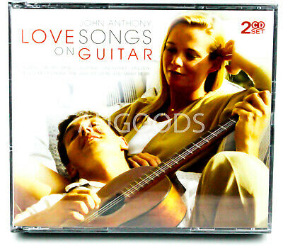 John Anthony - Love songs on Guitar - 2CD Set BRAND NEW SEALED MUSIC ALBUM CD