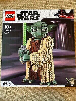Lego Star Wars 75255 Buildable Yoda Figure - Brand New - Boxed