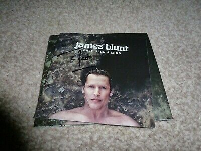 *Signed* James Blunt (Once Upon A Mind) Cd Album With COA