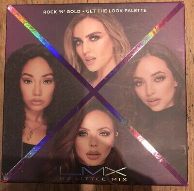 LMX By Little Mix ROCK 'N' GOLD - GET THE LOOK PALETTE - Makeup Set  - brand new